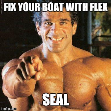 FRANGO Meme | FIX YOUR BOAT WITH FLEX SEAL | image tagged in memes,frango | made w/ Imgflip meme maker