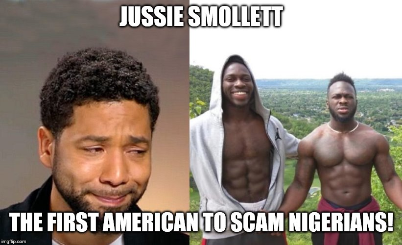 Image result for jussie smollett nigerian memes