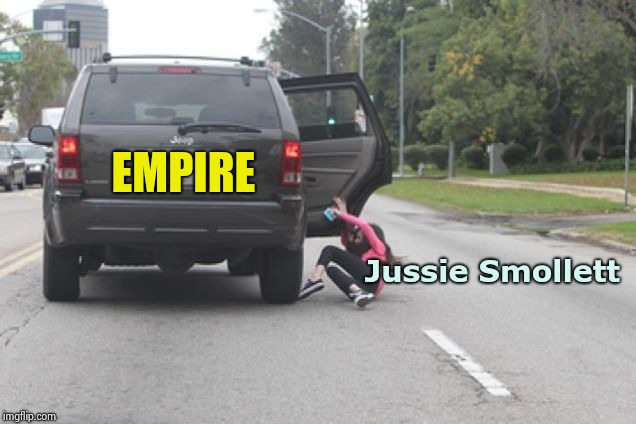 "The ""Empire"" strikes back ! 