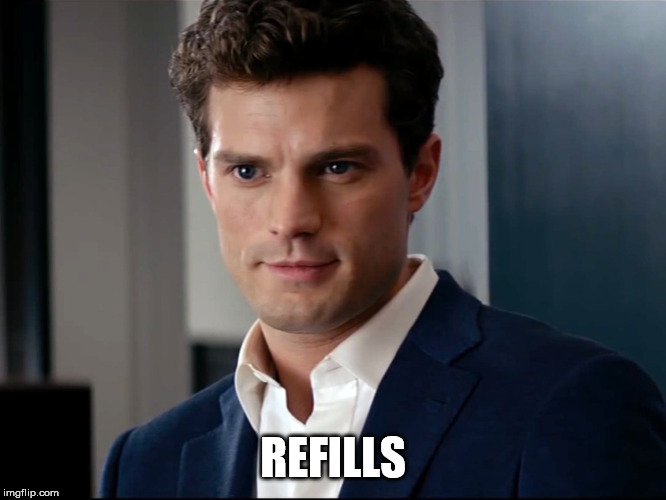 Fifty shades of love  | REFILLS | image tagged in fifty shades of love | made w/ Imgflip meme maker