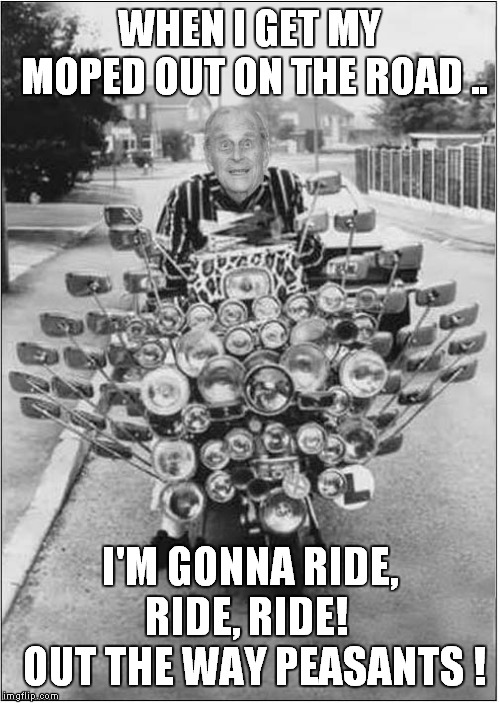 """This should razzle, dazzle 'em !"" 