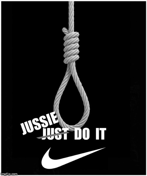 New NIKE ad ---- > with JUSSIE SMOLLETT | image tagged in jussie smollett,nike,dank memes,funny memes,current events,hilarious memes | made w/ Imgflip meme maker