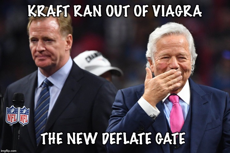 Image Tagged In Robert Kraft Issues Imgflip