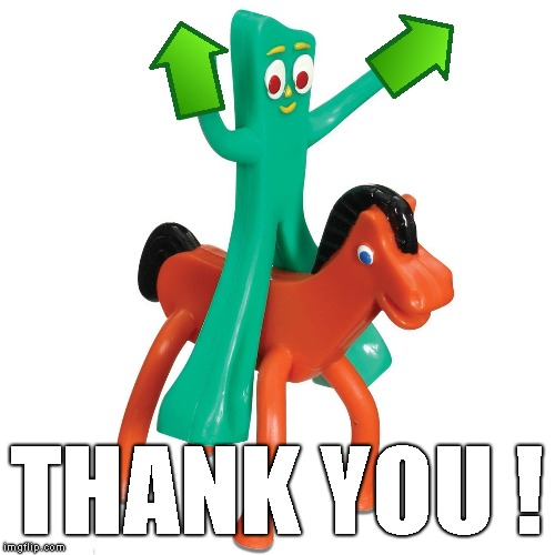 THANK YOU ! | made w/ Imgflip meme maker