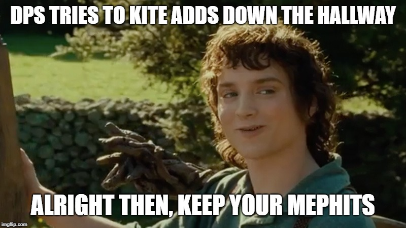 Image tagged in frodo alright then keep your secrets - Imgflip
