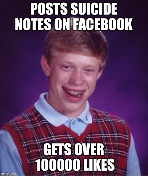 """Kill meh nou"" 