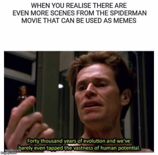 Osborn had the most deadass lines. | image tagged in memes,funny,dank memes,spiderman,norman osborn | made w/ Imgflip meme maker