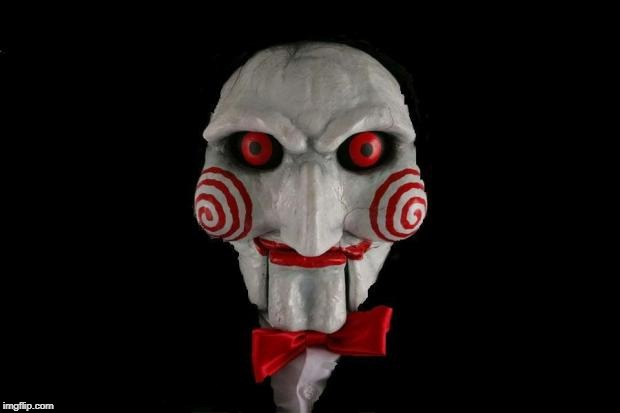 Jigsaw | image tagged in jigsaw | made w/ Imgflip meme maker