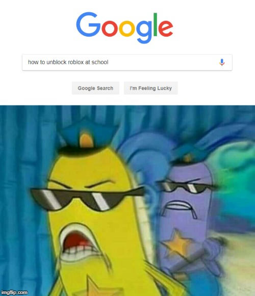 Spongebob Cops | image tagged in spongebob cops 3,roblox,spongebob police,google search | made w/ Imgflip meme maker