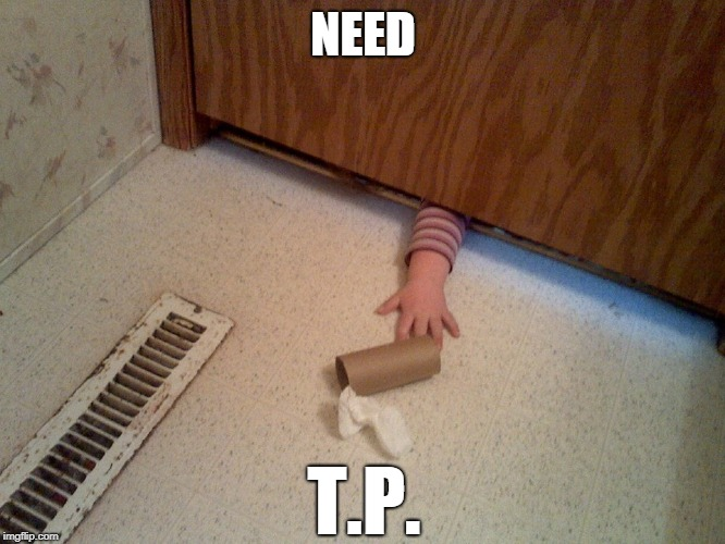 TP HAND | NEED T.P. | image tagged in hand under door,hand,toilet paper,bathroom,baby | made w/ Imgflip meme maker