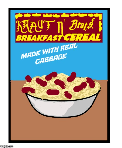"Goofus says ""Yuck! How Gross!""              Gallant says ""Those aren't brats; those are lil' smokies.""  