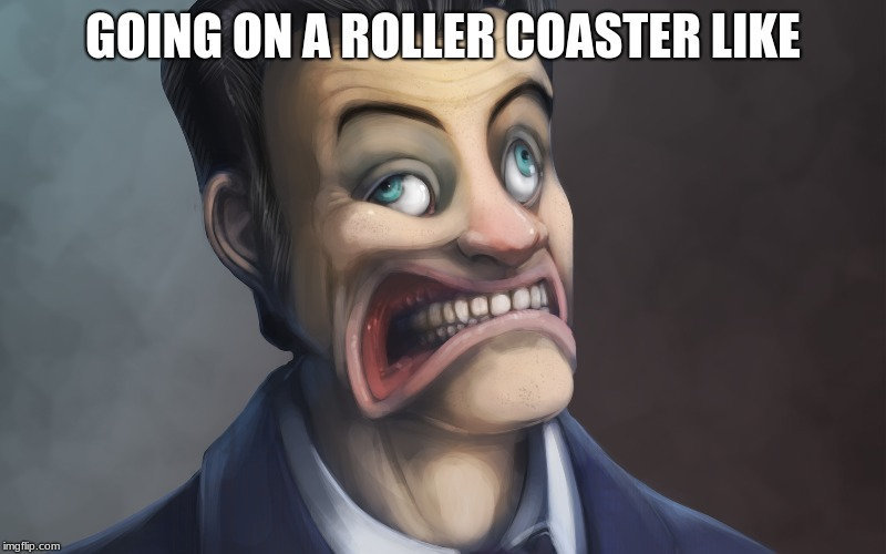 ROAAALLLEEERR COOOASSTER | GOING ON A ROLLER COASTER LIKE | image tagged in gmod,roller coaster,like,upvote this plz,comment too | made w/ Imgflip meme maker