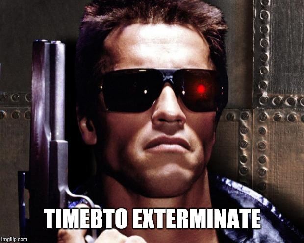Gecko exterminator | TIMEBTO EXTERMINATE | image tagged in gecko exterminator | made w/ Imgflip meme maker