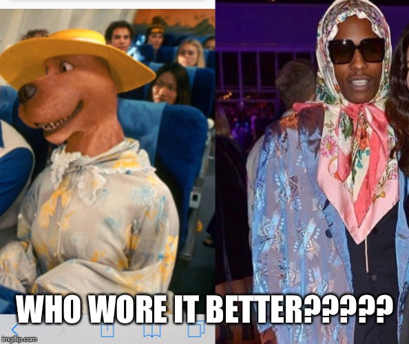 WHO WORE IT BETTER????? | image tagged in funny memes,who wore it better | made w/ Imgflip meme maker
