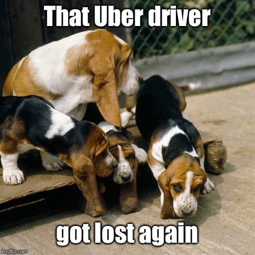 That Uber driver got lost again | made w/ Imgflip meme maker