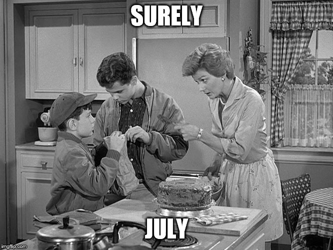 SURELY JULY | made w/ Imgflip meme maker