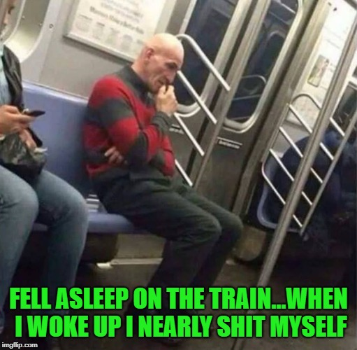 One two Freddy's coming for you!!! | FELL ASLEEP ON THE TRAIN...WHEN I WOKE UP I NEARLY SHIT MYSELF | image tagged in freddy krueger,memes,don't fall asleep,funny,nightmare on my train | made w/ Imgflip meme maker