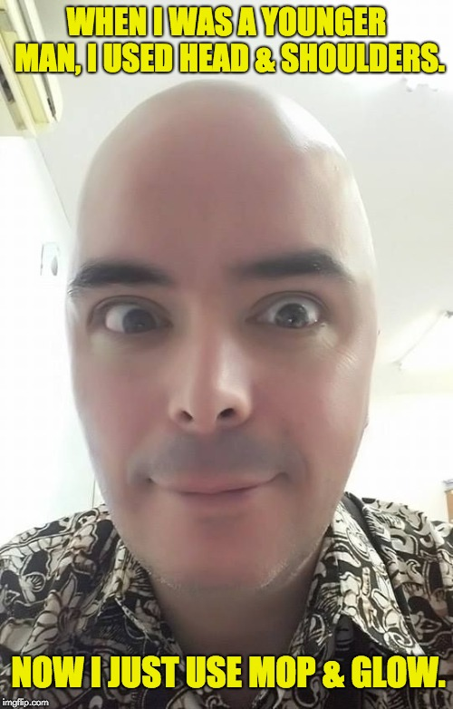 Image tagged in bald guy - Imgflip