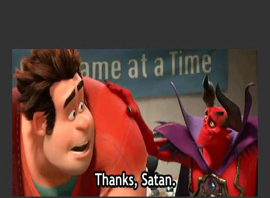 Thanks Satan Blank Template Imgflip