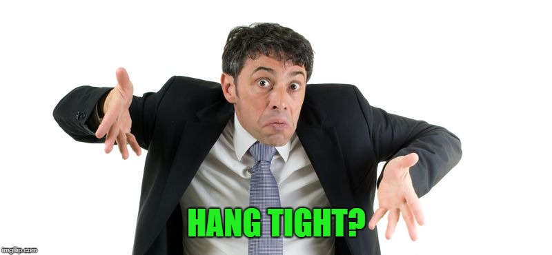 HANG TIGHT? | made w/ Imgflip meme maker
