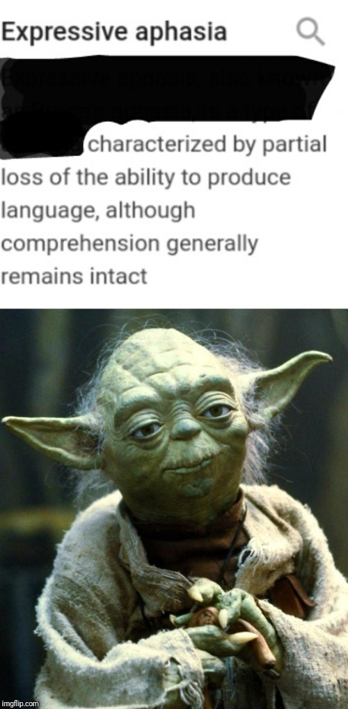 . | image tagged in memes,star wars yoda | made w/ Imgflip meme maker