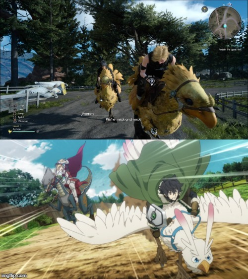 Final Fantasy Shield Hero Races | image tagged in final fantasy xv,anime,animeme,anime meme | made w/ Imgflip meme maker
