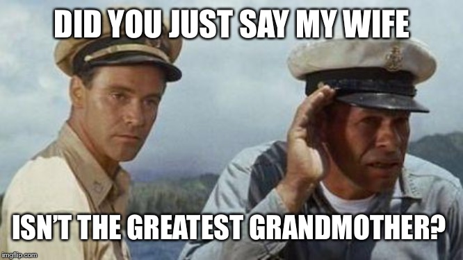 DID YOU JUST SAY MY WIFE ISN'T THE GREATEST GRANDMOTHER? | made w/ Imgflip meme maker