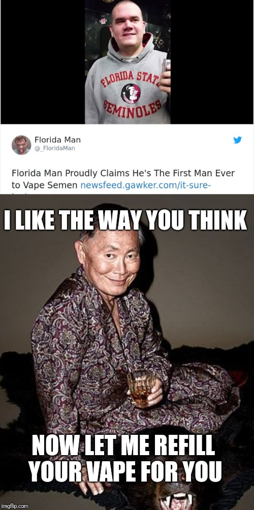 """STD from Vape?!?"" Florida Man Week (March 3-10, a Claybourne and Triumph_9 event) 