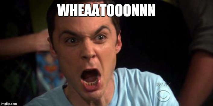 Sheldon Cooper | WHEAATOOONNN | image tagged in sheldon cooper | made w/ Imgflip meme maker