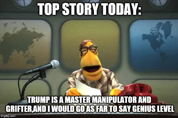 Stable Genius is a Conman - Imgflip