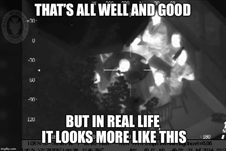 THAT'S ALL WELL AND GOOD BUT IN REAL LIFE IT LOOKS MORE LIKE THIS | made w/ Imgflip meme maker