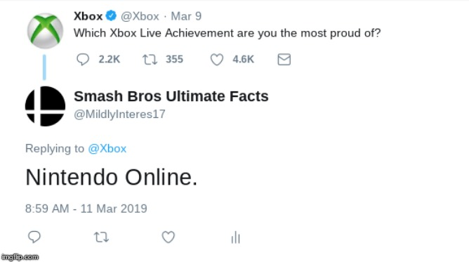 Probably Gonna Get My Twitter Banned But IDGAF #NotAWholesomeMeme | image tagged in memes,funny,xbox,nintendo,twitter | made w/ Imgflip meme maker