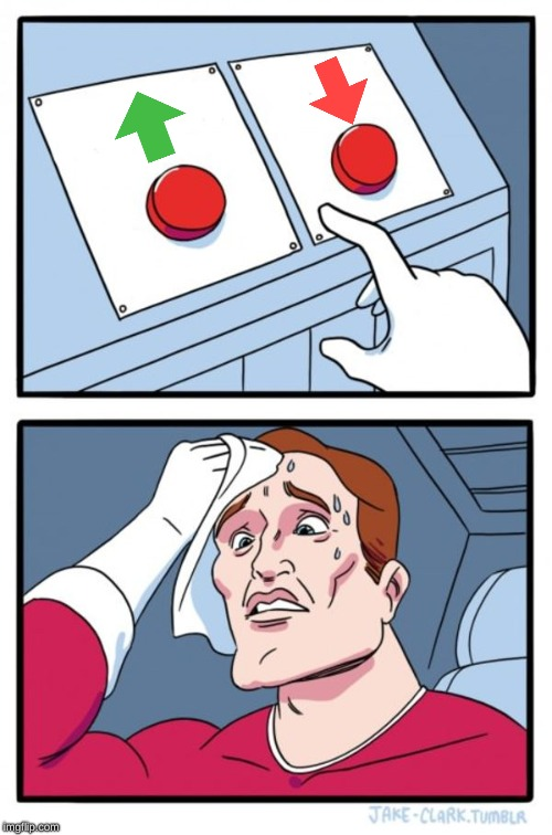 Two Buttons Meme | image tagged in memes,two buttons | made w/ Imgflip meme maker