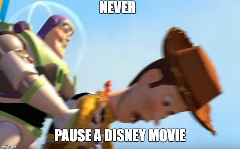 umm... what is going on here? | NEVER PAUSE A DISNEY MOVIE | image tagged in wat,wtf,excuse me wtf | made w/ Imgflip meme maker