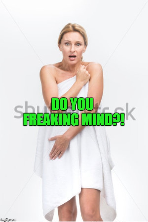 DO YOU FREAKING MIND?! | made w/ Imgflip meme maker