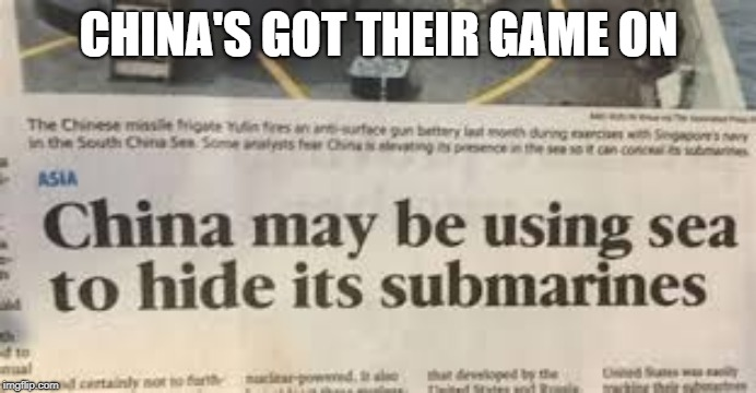 America better step up... |  CHINA'S GOT THEIR GAME ON | image tagged in memes,headlines,stupid,funny,china | made w/ Imgflip meme maker