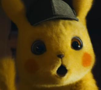 Suprised Detective Pikachu Blank Template Imgflip