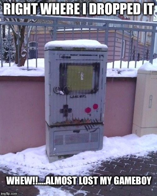 "Utility ""Gameboy"" 