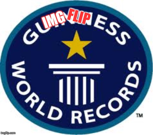 The New And Official Logo Of Imgflip World Records | IMG FLIP | image tagged in memes,guinness world record,imgflip | made w/ Imgflip meme maker