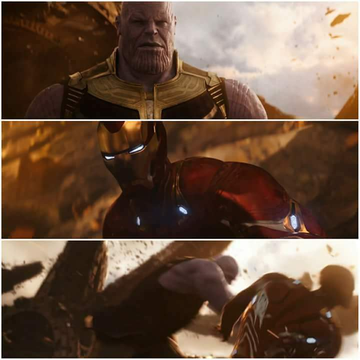 Thanos And Iron Man Blank Template Imgflip
