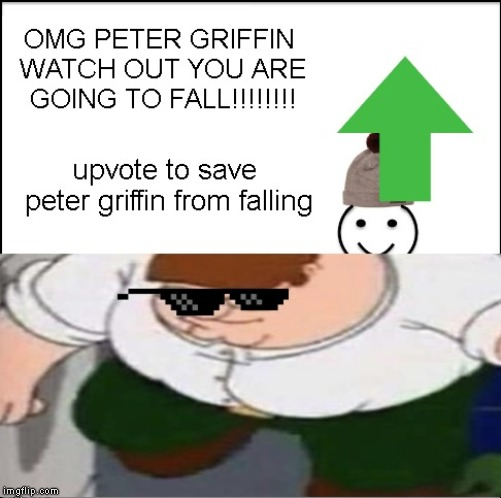 peter griffin falling | image tagged in peter griffin news,dad,beating a dead horse,american chopper argument | made w/ Imgflip meme maker