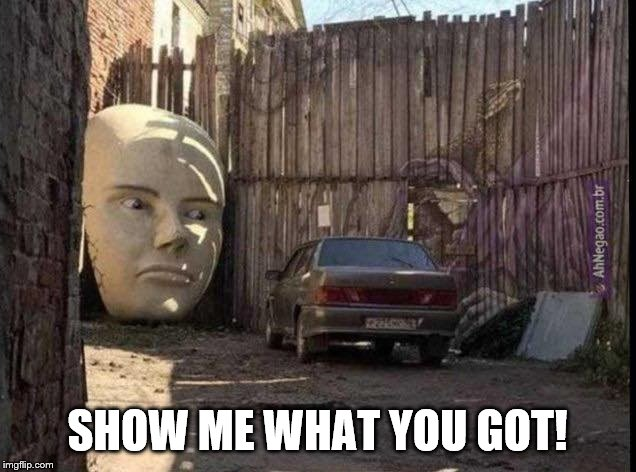 Show Me | SHOW ME WHAT YOU GOT! | image tagged in rick and morty | made w/ Imgflip meme maker