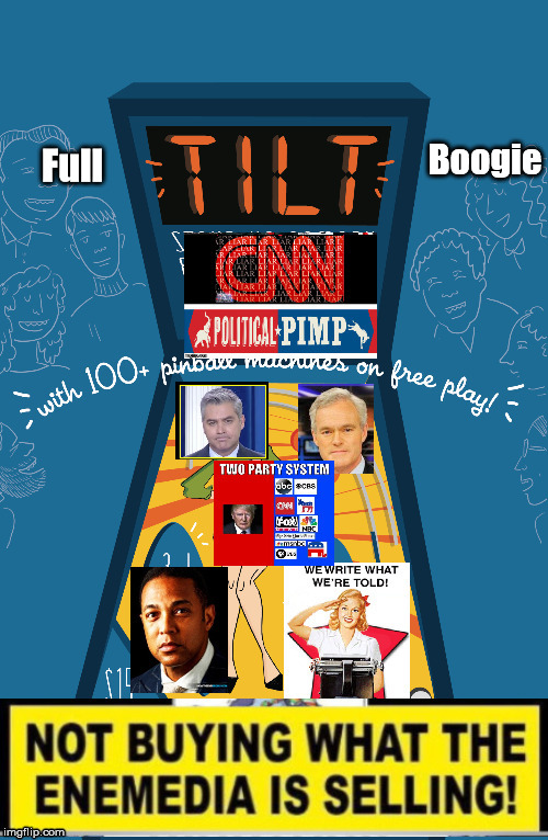 CNN full tilt Boogie | Full Boogie | image tagged in cnn fake news | made w/ Imgflip meme maker