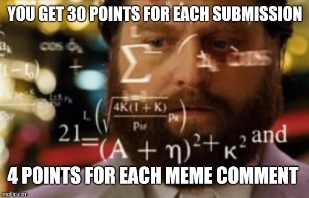 Trying to calculate how much sleep I can get | YOU GET 30 POINTS FOR EACH SUBMISSION 4 POINTS FOR EACH MEME COMMENT | image tagged in trying to calculate how much sleep i can get | made w/ Imgflip meme maker