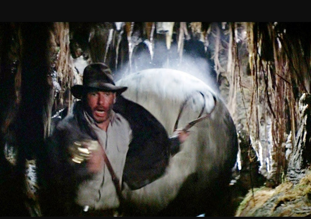 High Quality Indiana jones rock Blank Meme Template