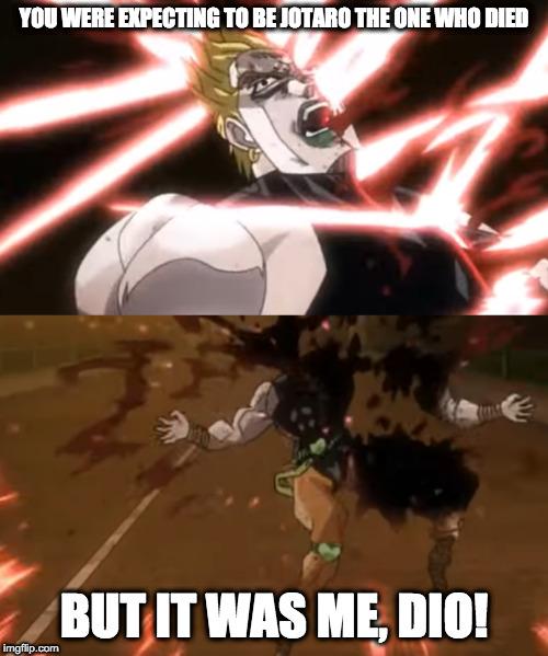 Kono Dio Daaaaaaaaaaaaaaa Imgflip
