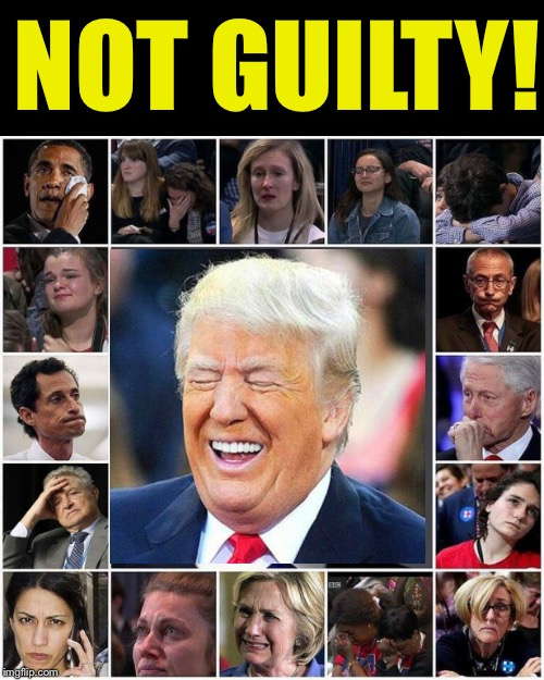 Meuller probe ends with zero indictments related to Trump/Russian collusion.  Will you haters apologize to POTUS?  Hmmmm? | NOT GUILTY! | image tagged in maga | made w/ Imgflip meme maker