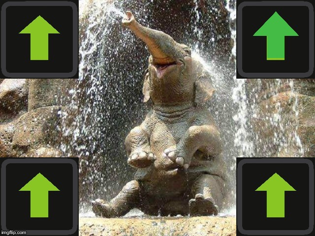 Upvote Elephant | image tagged in upvote elephant | made w/ Imgflip meme maker