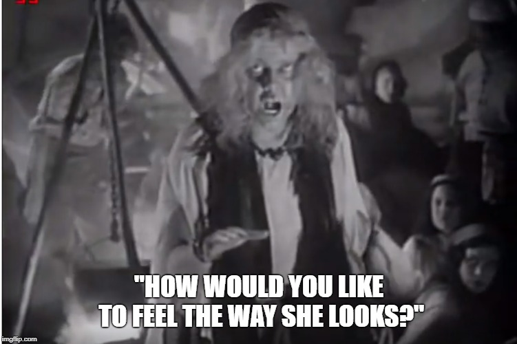 "The Marx Brothers, A Night At The Opera | ""HOW WOULD YOU LIKE TO FEEL THE WAY SHE LOOKS?"" 