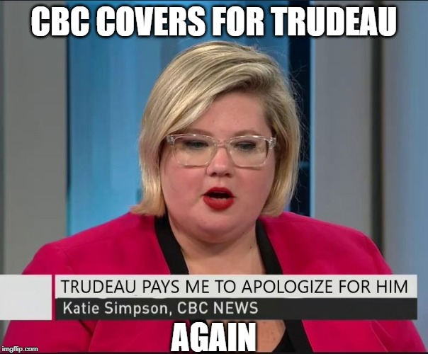 Full Propaganda mode | CBC COVERS FOR TRUDEAU AGAIN | image tagged in justin trudeau,trudeau,fake news,meanwhile in canada,government corruption,biased media | made w/ Imgflip meme maker